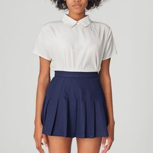 "American Apparel ""Patriot Blue"" Tennis Skirt"